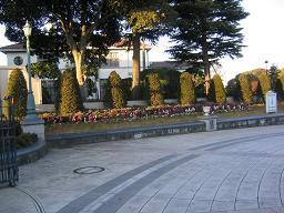 イギリス館前広場