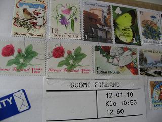 フィンランド切手2