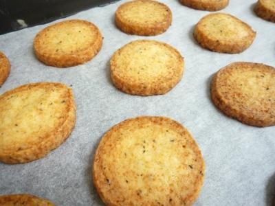 胡椒のチーズクッキー