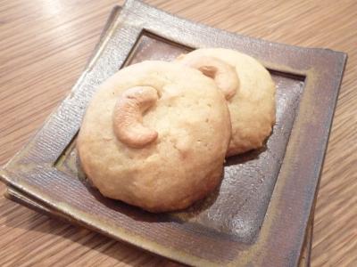 カシューナッツのクッキー 3