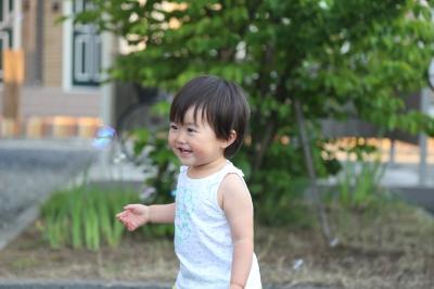 杏 シャボン玉 4