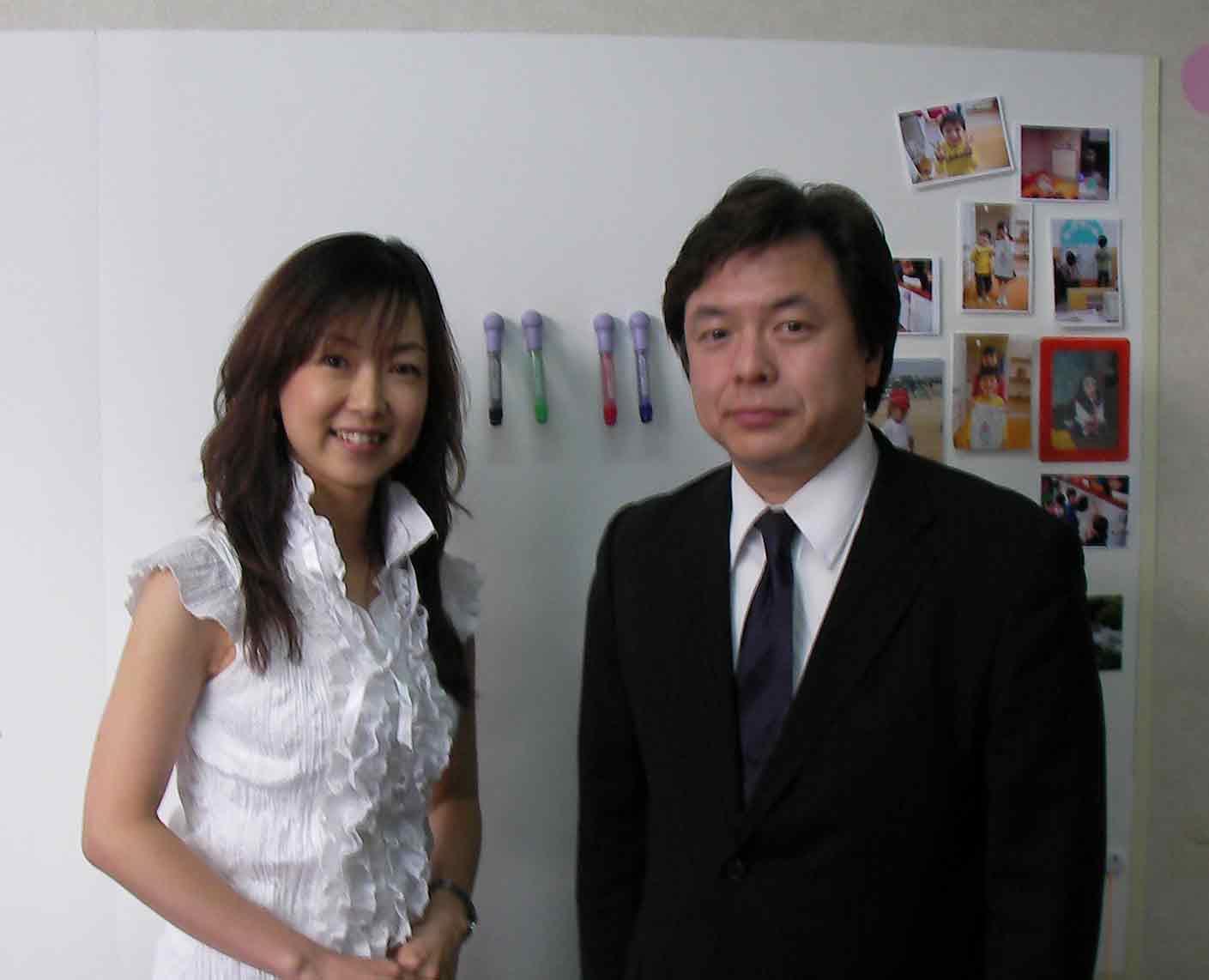 小山浩子さん来社080911