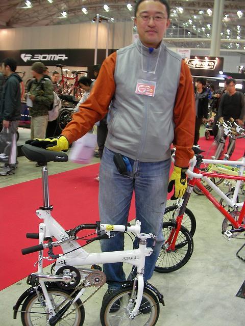 サイクルモード 2008 アトール足達代表