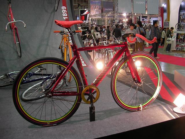 ユニークな自転車 インド風?バッファロー?