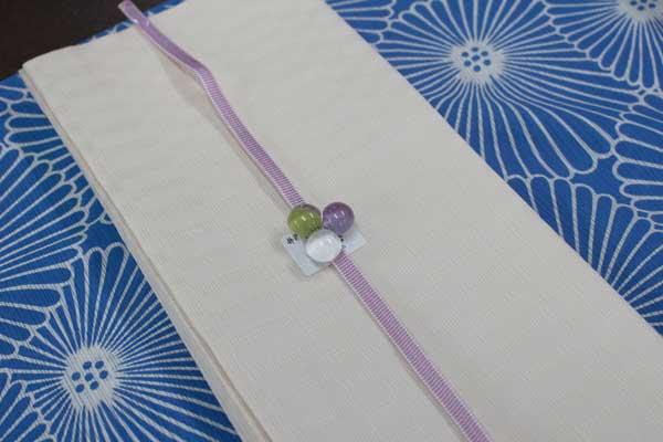 麻の半巾帯