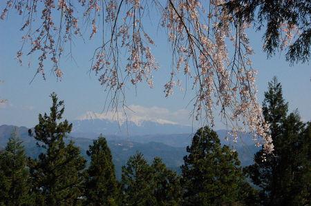 千光寺からみる御嶽山