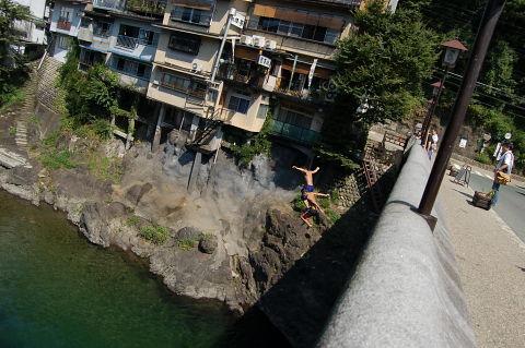吉田川飛び込み