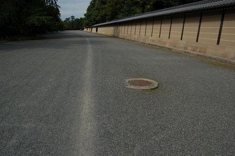 京都御所自転車道