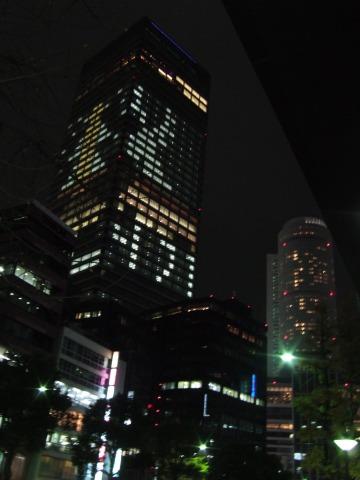 名駅イルミ1