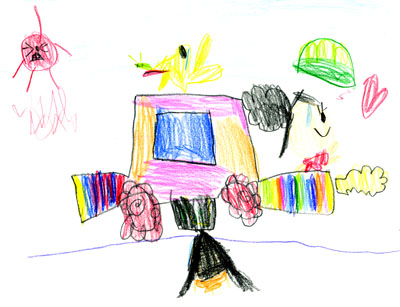 ドライブたのしいな_絵本と本と子供の絵ブログ