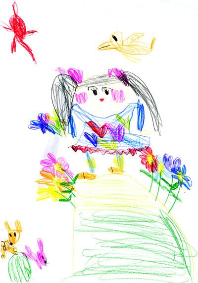 わたしの絵_絵本と本と子供の絵ブログ