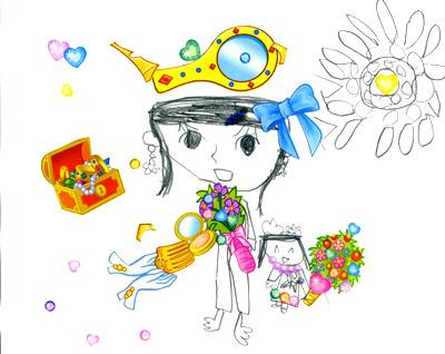 ママとわたし_絵本と本と子供の絵ブログ