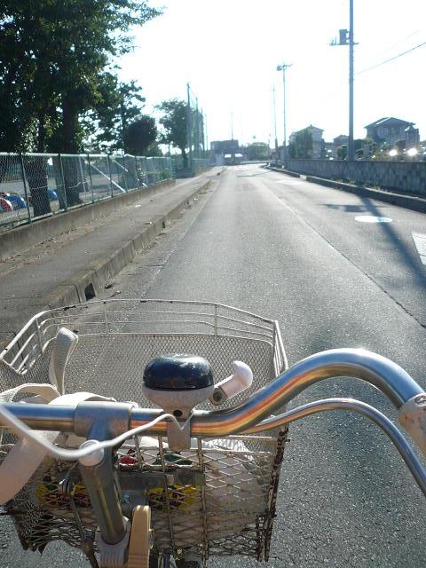 自転車は気持ちがいい!