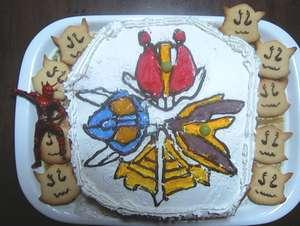 デンカメンソードケーキ