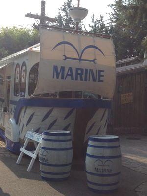 海軍の屋台