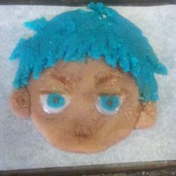 葵さんの青峰君ケーキ