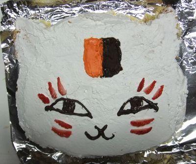 ニャンコ先生ケーキ