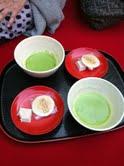 銀閣寺と菓子