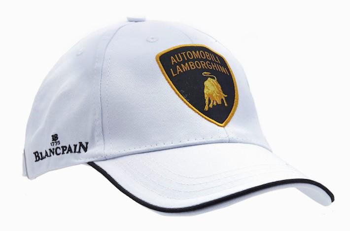 ランボルギーニ「Squadra Corse」キャップ(ホワイト)