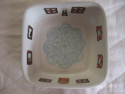 手描き陶器(家・3)