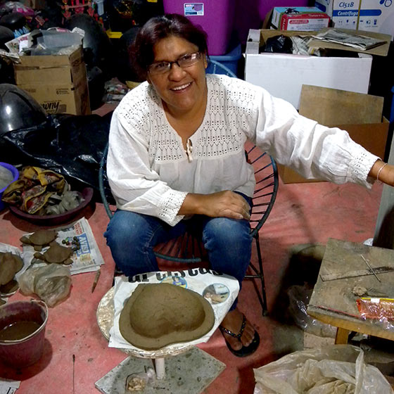 バロネグロ オアハカ メキシコ 陶器 焼き物 民芸 コヨテペック