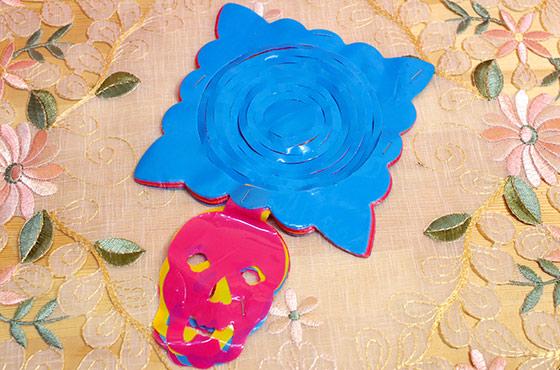 パペルピカド ガーランド 死者の日 ハロウィン パーティ ホームパーティ 飾り インテリア