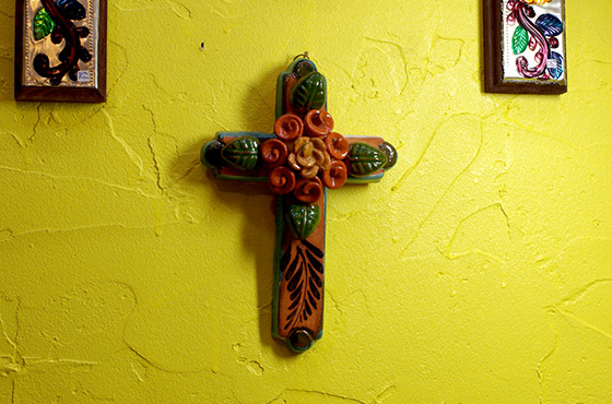 メキシコ インテリア 十字架 クロス 手作り 壁掛け 壁飾り ディスプレー