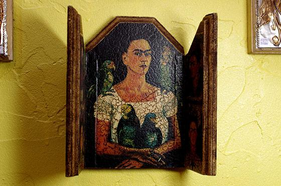 インテリア メキシコ 壁掛け 壁飾り メキシカンインテリア おしゃれ かわいい フリーダ・カーロ frida kahlo フリーダ お守り