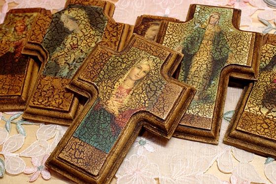 インテリア メキシコ 壁掛け 壁飾り メキシカンインテリア おしゃれ かわいい インテリア十字架 十字架 クロス お守り
