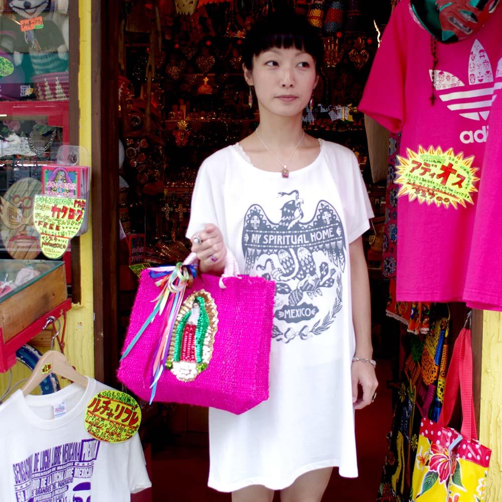 FRENZY WORKS フレンジーワークス メキシコ Tシャツ メキシカンデザイン 服 ウェア イーグル メキシコ国旗