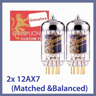 GOLD LION  12AX7の感想