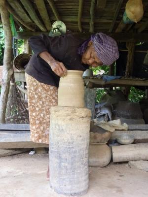 おばあちゃんの作る水瓶