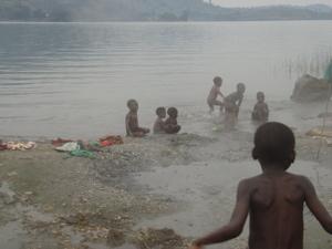 温泉と子供たち4