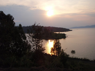 Nyamasekeの夕日