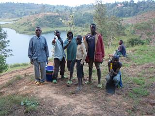 Nyamaseke:地元の労働者たち