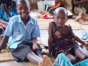 子供たちの笑顔