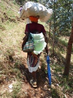 ルワンダおんぶ