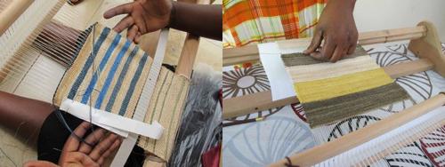 weaved samples