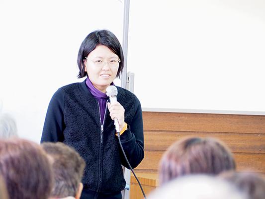 講師:佐々木安芸子さん