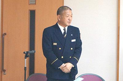 弘前地区消防事務組合藤代分署の山中係長