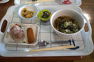 3月25日の昼食
