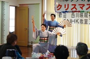 西川暎龍社中様の日舞