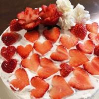♥たっぷりのケーキ