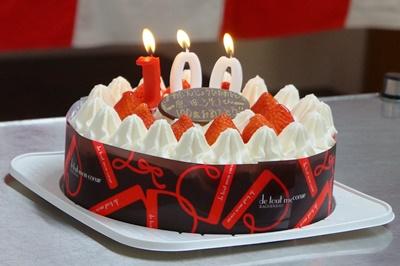 100歳ケーキ