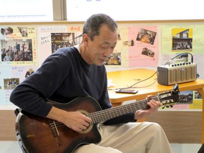 グルホ クリスマスコンサート ギター松山さん