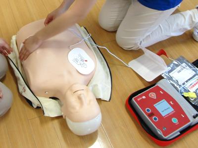 AED準備