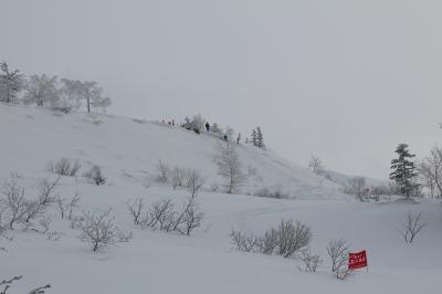 三段山雪崩拡大