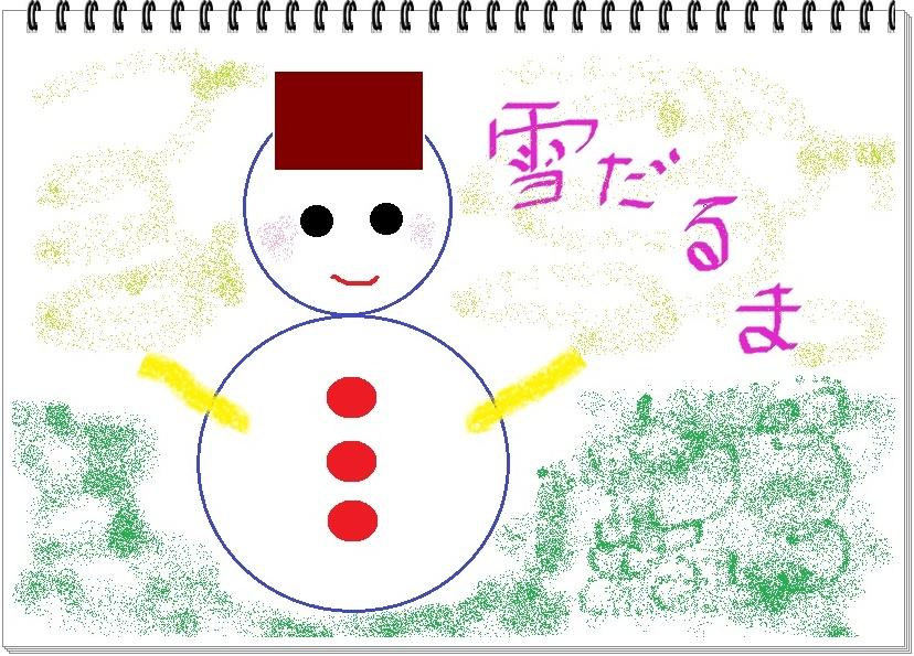 ペイント,雪だるま,奈良,奈良市,パソコン教室,大和西大寺,MOS資格,短期集中