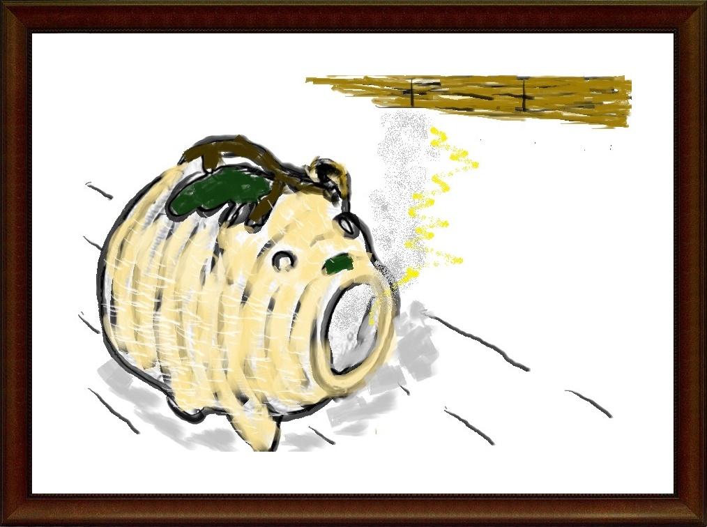 ペイントで絵画,蚊取り線香,奈良,奈良市,パソコン教室,大和西大寺.パソコンスクール