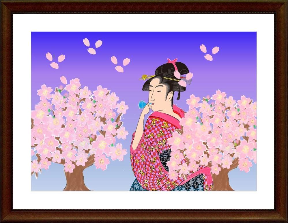 パソコン絵画,奈良,奈良市,パソコン教室,大和西大寺.ペイント,水彩